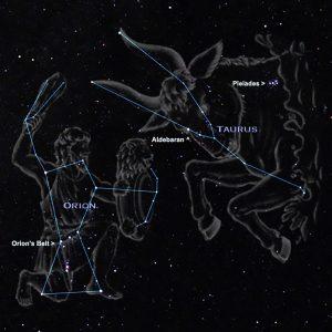 M45 Ammasso aperto delle Pleiadi, foto realizzata dal Socio G.A.S. Fabio Perrone